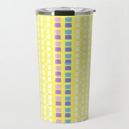 Lemon Mosaic Travel Mug