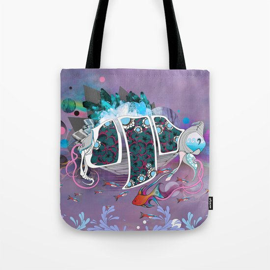 Old Elsie and the Storm Tote Bag