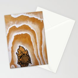 "Stan Matwychuk 12""x18""- Radiant Aurora Stationery Cards"