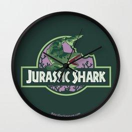 Jurassic Shark - Edestus shark Wall Clock