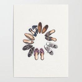 Shoe Circle Poster