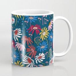 Waving floral pattern Coffee Mug