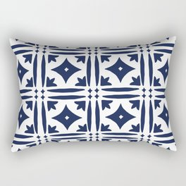 Mosaic Tile Pattern Rectangular Pillow