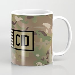 CID (Camo) Coffee Mug