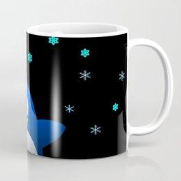 Dancing Penguin in the Dark Coffee Mug