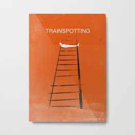 Trainspotting Metal Print
