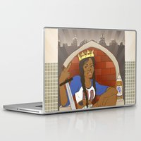 kendrawcandraw Laptop & iPad Skins featuring Queen of Swords - Azealia Banks by kendrawcandraw
