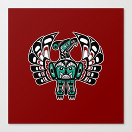 Northwest Pacific coast Haida art Thunderbird Canvas Print