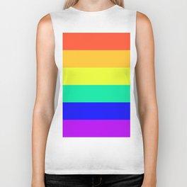 Rainbow Design Biker Tank