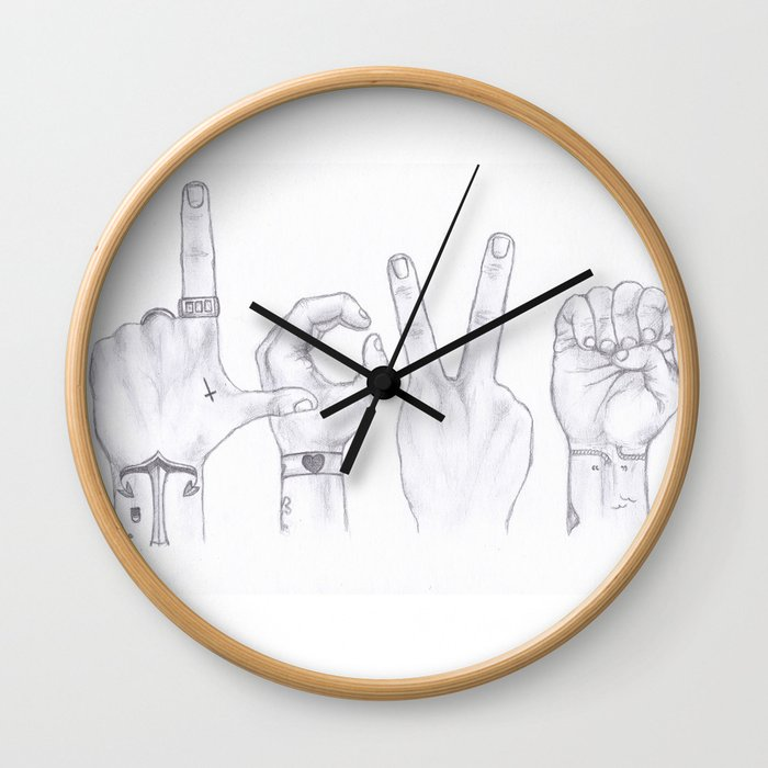 Love Wins. Always. (Larry Stylinson) Wall Clock