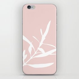 Branch in Silhouette iPhone Skin