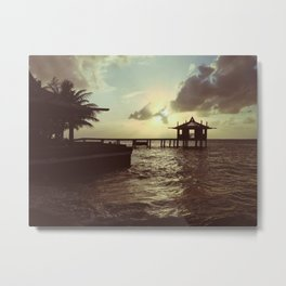 Honduran Sunset Metal Print