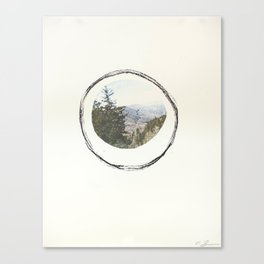 Smoky Mountains (Void 3) Canvas Print