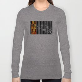 Bamboo in Color and Black & White Long Sleeve T-shirt