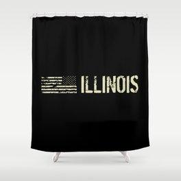 Black Flag: Illinois Shower Curtain