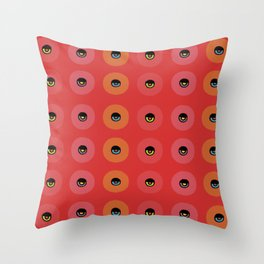 Aztec Collection: Eye in the Sky Variant 1 Throw Pillow