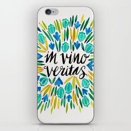 In Wine, There is Truth – Spring Palette iPhone Skin
