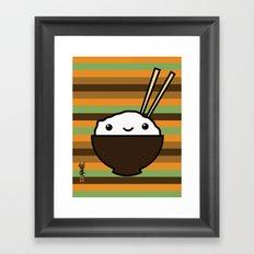 Ricebowl Framed Art Print