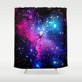 Eagle Nebula Unicorn Color Shower Curtain