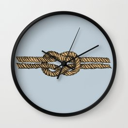 Nautical Boat Knot Wall Clock