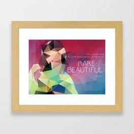 Mulan: Bloom in Adversity Framed Art Print