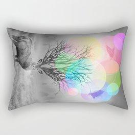Calm Within the Chaos Rectangular Pillow