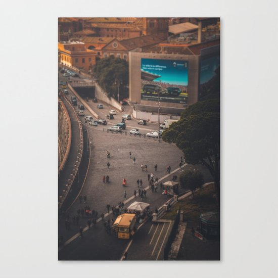 Toy Town Canvas Print
