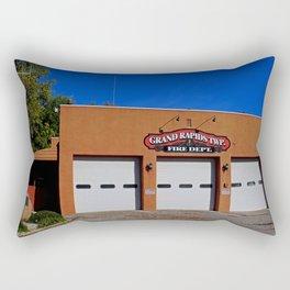 Grand Rapids Ohio Fire Department Rectangular Pillow