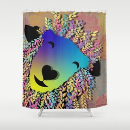 Ewe Inspire me to laugh Shower Curtain