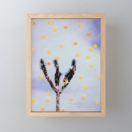 Desert Stars Framed Mini Art Print