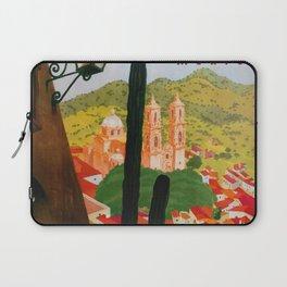 Vintage Tasco Mexico Travel Laptop Sleeve