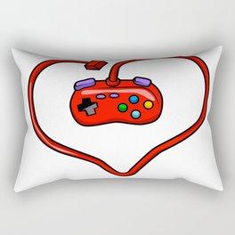 joystick heart Rectangular Pillow