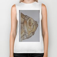 watercolour Biker Tanks featuring watercolour by cabbagepatch