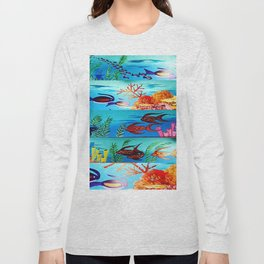 Beautiful Sea Life Long Sleeve T-shirt