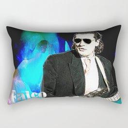 Bass Man Rectangular Pillow