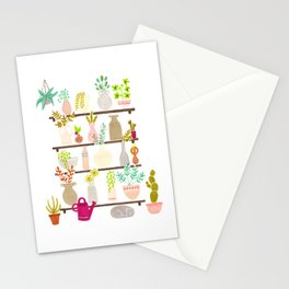 Vases, pots and plants Stationery Cards