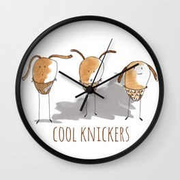 Cool Knickers Wall Clock