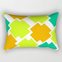 GRAPHIC SQUARES Rectangular Pillow