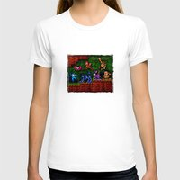 megaman T-shirts featuring Megaman Woodman by likelikes
