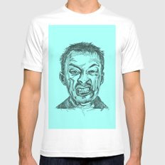 Thom Yorke Mens Fitted Tee White MEDIUM