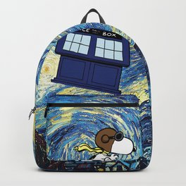 snoopy starry night Backpack