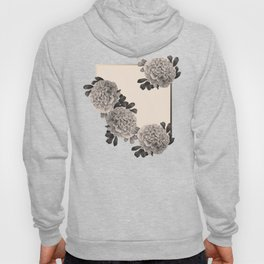 Flowers on a winter day Hoody