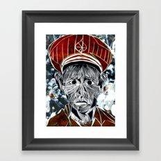 CONSCRIPTION Framed Art Print