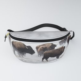Yellowstone National Park - Bison Herd Fanny Pack