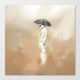 wet day Canvas Print