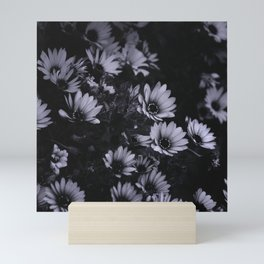 Flowers everywhere Mini Art Print