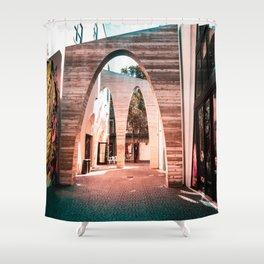 Artsy Hallway Shower Curtain