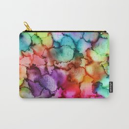 "Abstract ""Floral"" Carry-All Pouch"