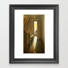 Across the Hall Framed Art Print