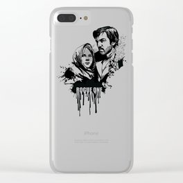 Fandom In Ink » Rogue One Clear iPhone Case